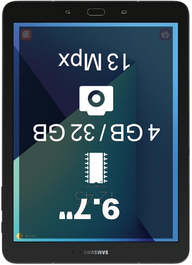 Samsung Galaxy Tab S3 4G tablet