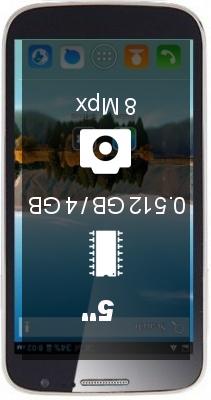 Cubot P9 smartphone