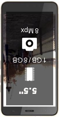 Zen Cinemax Click smartphone