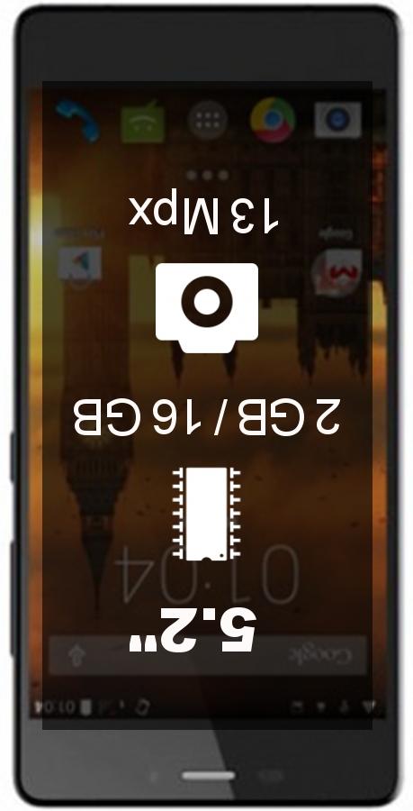 Kazam Tornado 552L smartphone