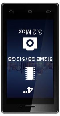 Videocon Infinium Z41 Aire smartphone