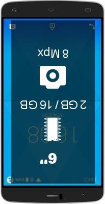 INew U9 Plus smartphone