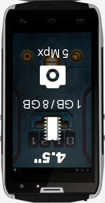 DOOGEE Titans 2 DG700 smartphone