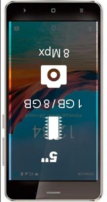 Ginzzu S5220 smartphone