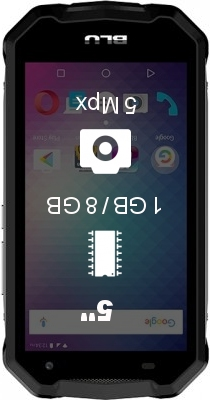 BLU Tank Extreme 5.0 smartphone