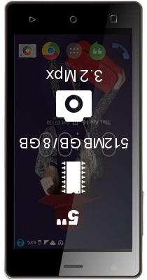 Zen Admire Fab Q smartphone
