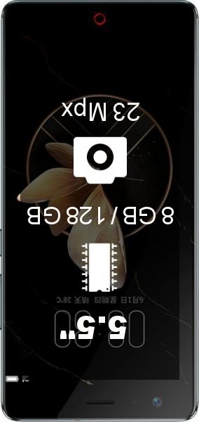 Nubia Z17 8GB 128GB smartphone