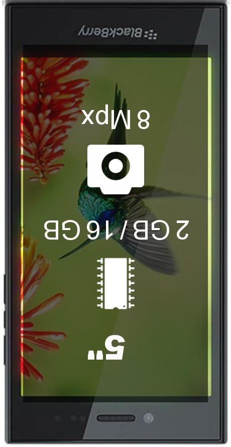 BlackBerry Leap smartphone
