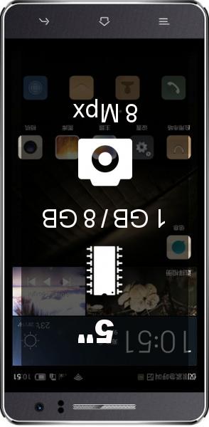 Landvo L600 smartphone