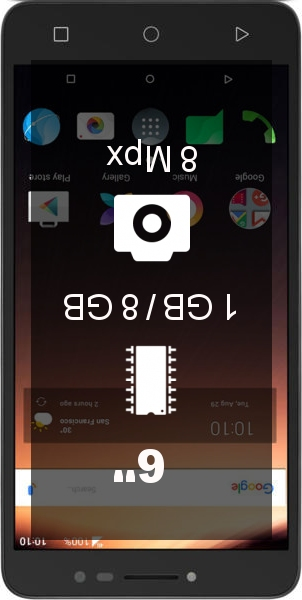 Alcatel A3 XL smartphone