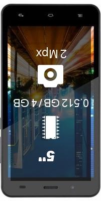 Digma Citi Z510 3G smartphone