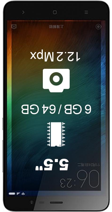 Xiaomi Note 3 smartphone