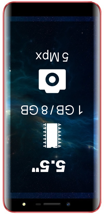 Doopro P5 1GB 8GB smartphone
