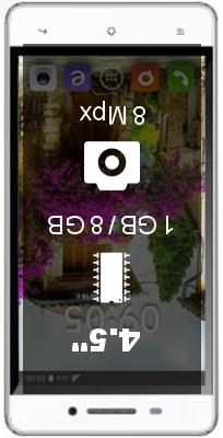 BQ S-4504 Nice smartphone