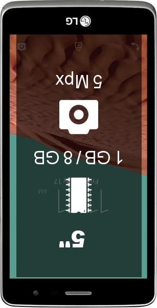LG Bello II X150 smartphone