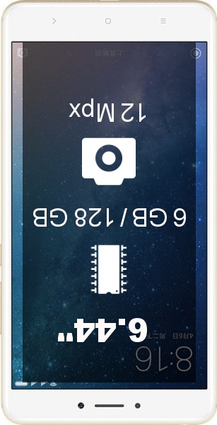 Xiaomi Mi Max 2 4GB 128GB smartphone