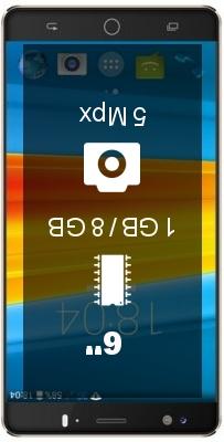 DEXP Ixion ES260 Navigator smartphone