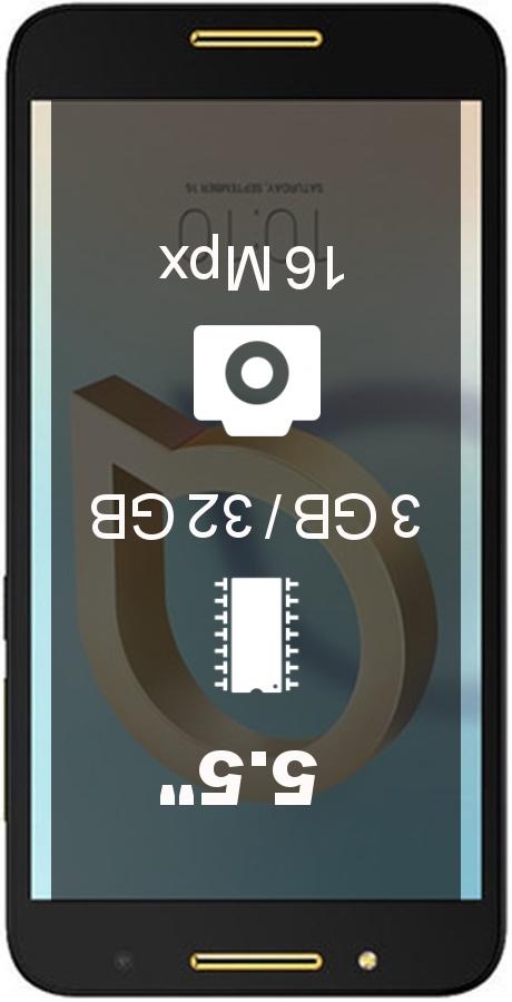 Alcatel A7 3GB 32GB smartphone