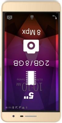 Lava X46 smartphone