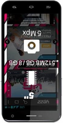 Yezz Andy 5M smartphone