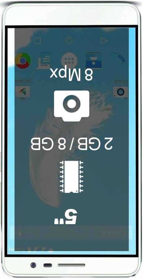Lava Iris Fuel F1 smartphone