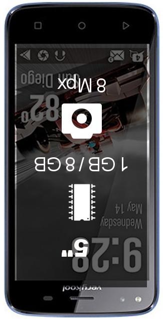 Verykool Jet SL5009 smartphone