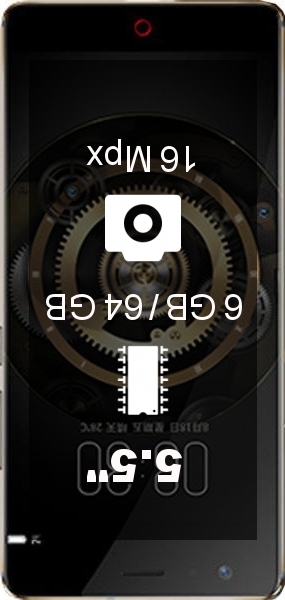 Nubia Z17 Lite 6GB 64GB smartphone