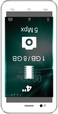Lava A55 smartphone