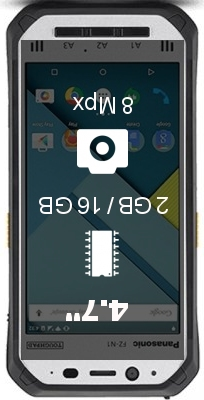 Panasonic Toughpad FZ-N1 smartphone