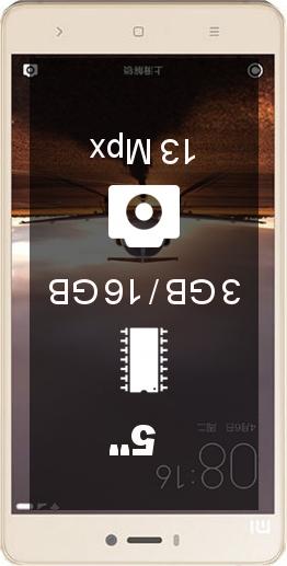 Xiaomi Mi4S 3GB 16GB smartphone