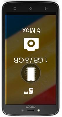 Motorola Moto C 4G 1GB 8GB smartphone
