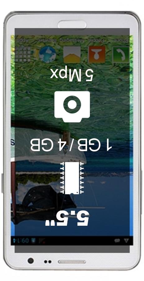 Jiake N900W 817 smartphone