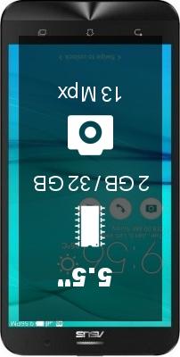 ASUS ZenFone Go ZB552KL smartphone