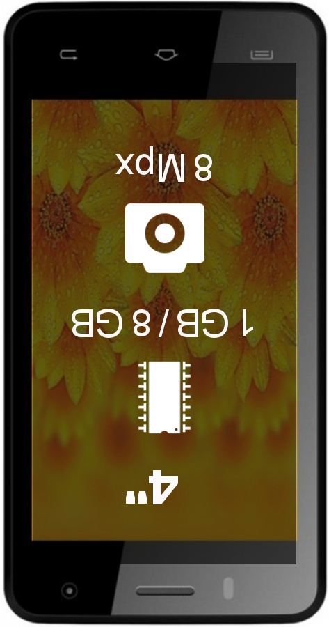 Intex Aqua Y2 1GB 8GB smartphone