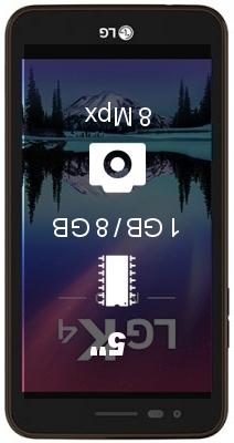 LG K4 Novo smartphone