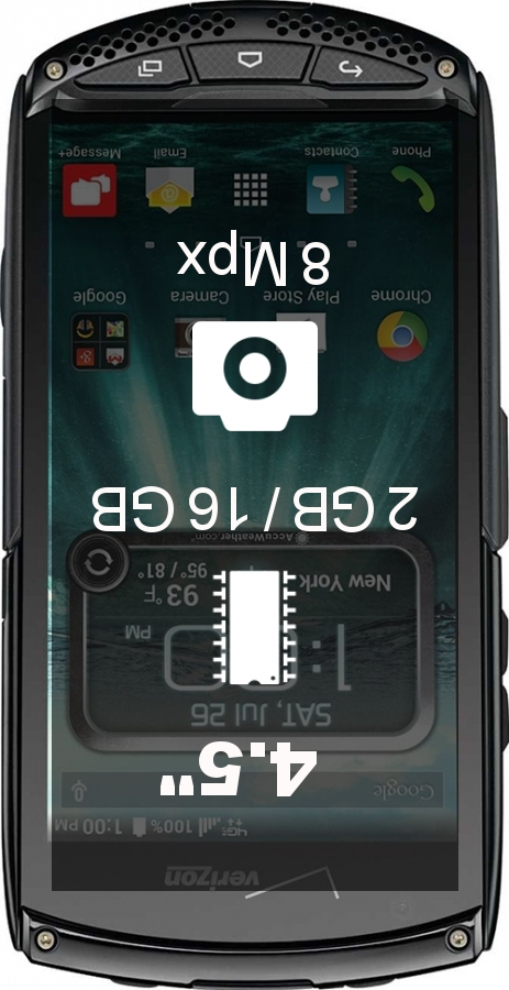 Kyocera DuraScout smartphone