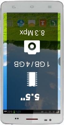 Elephone P7 4GB smartphone