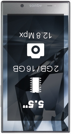 Sharp Aquos Crystal X smartphone