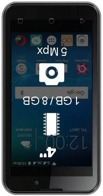 QMobile X32 Power smartphone