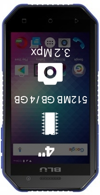 BLU Tank Xtreme 4.0 smartphone