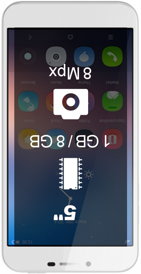 HiSense D2 smartphone