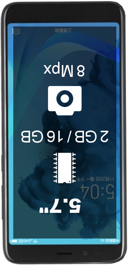 Lenovo K320t smartphone