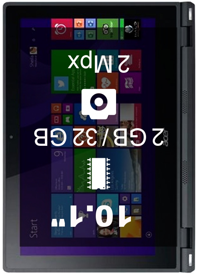 Acer Aspire Switch 10V 2GB 32GB tablet
