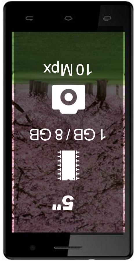 Intex Aqua Desire HD smartphone
