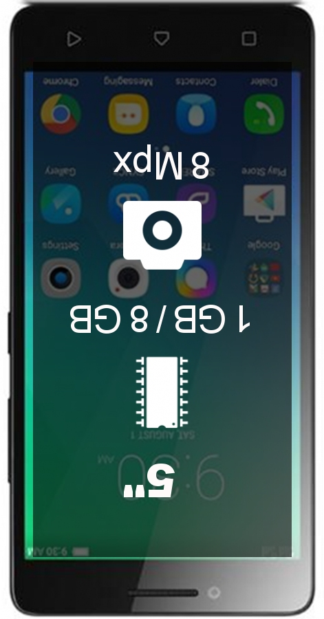 Lenovo A6000 smartphone