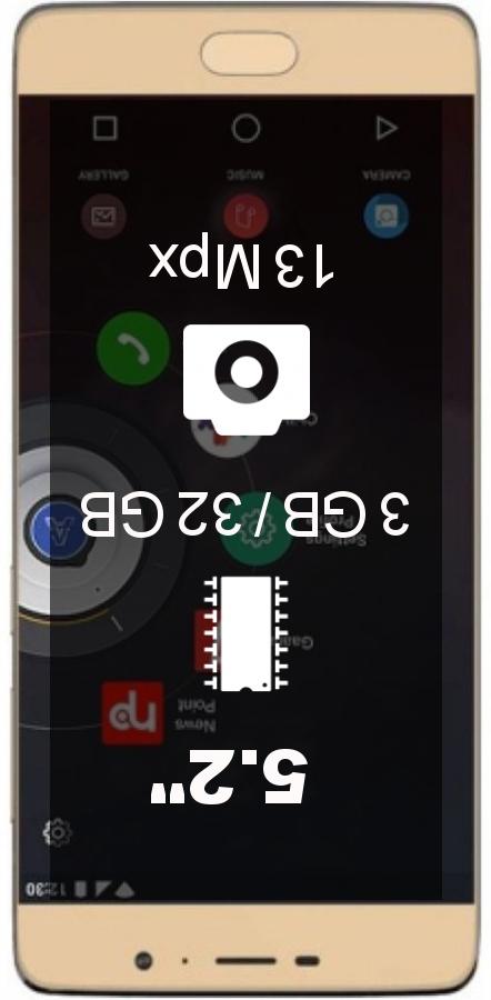 Panasonic Eluga A3 Pro smartphone