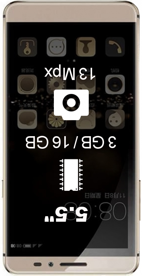 Coolpad TipTop Max smartphone