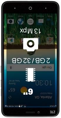 ZTE Blade X Max Z983 smartphone
