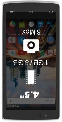 Archos 45c Helium 4G smartphone