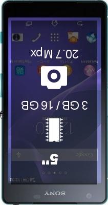 SONY Xperia Z2a smartphone
